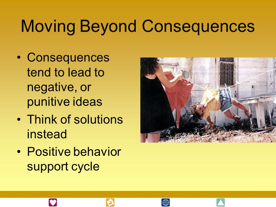 Moving Beyond Consequences