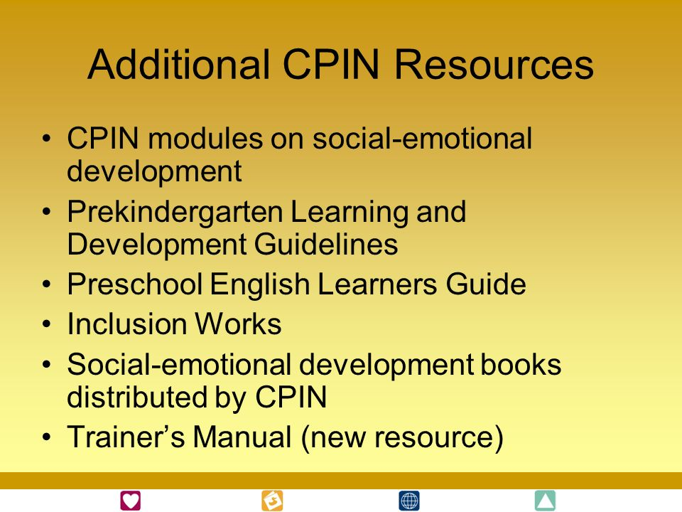 Additional CPIN Resources