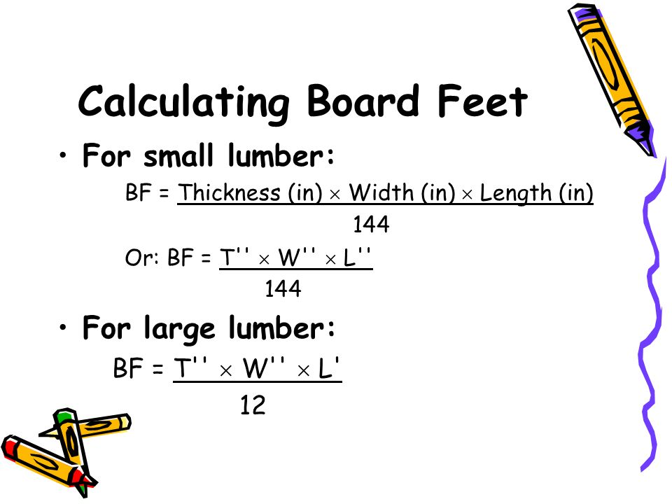 How to calculate board foot lumber best lumber 2017 for Lumber calculator for garage
