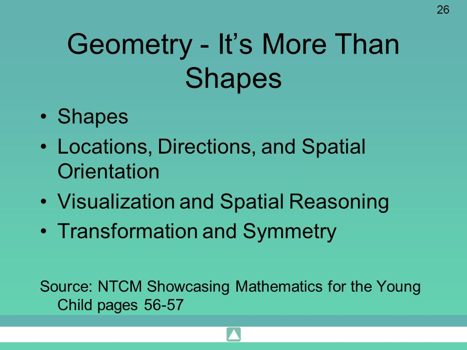 Geometry - It's More Than Shapes