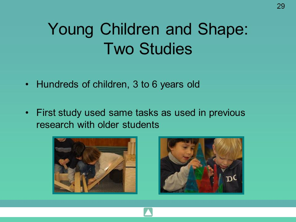 Young Children and Shape: Two Studies