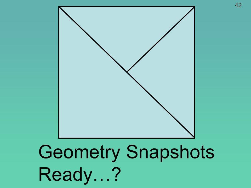 Geometry Snapshots Ready…