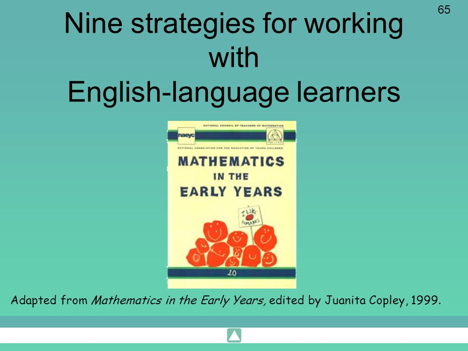 Nine strategies for working with English-language learners