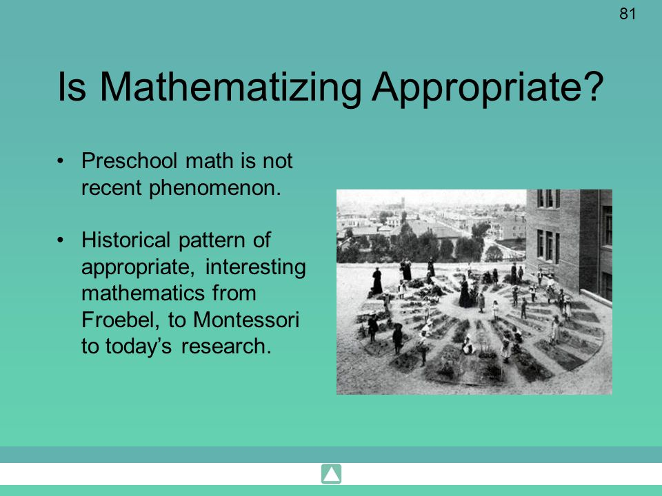 Is Mathematizing Appropriate
