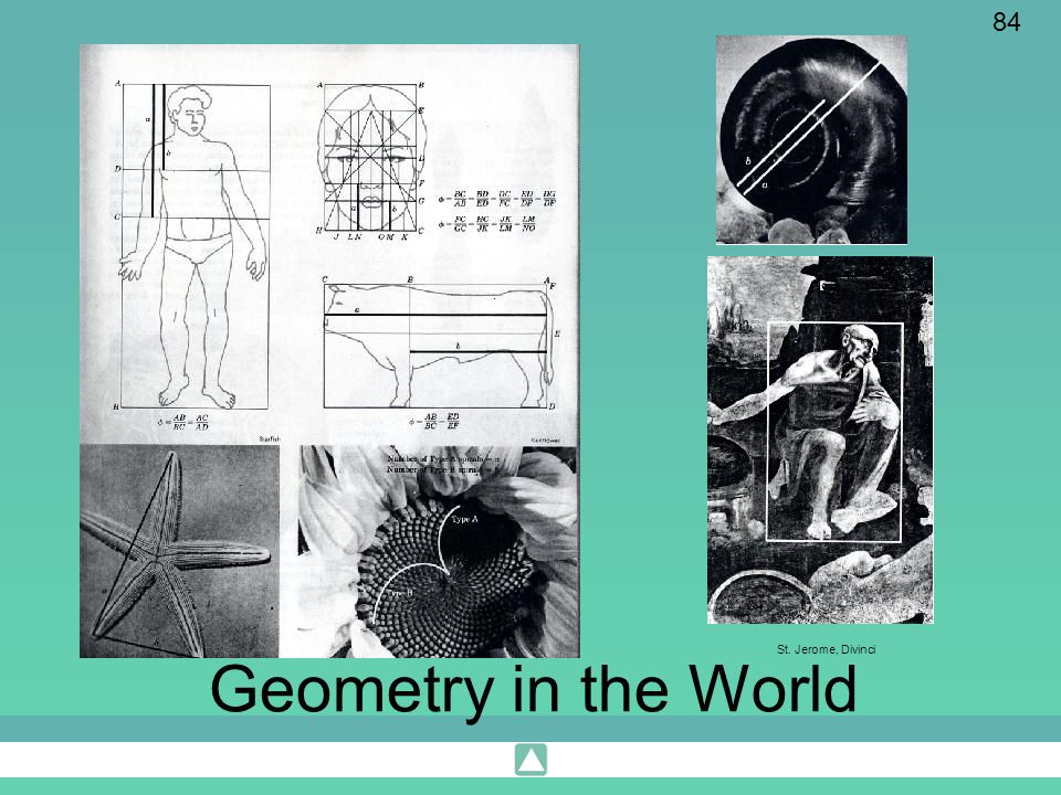 St. Jerome, Divinci Geometry in the World