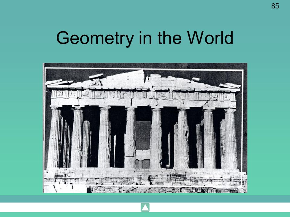 Geometry in the World