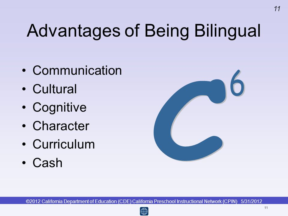Advantages of Being Bilingual