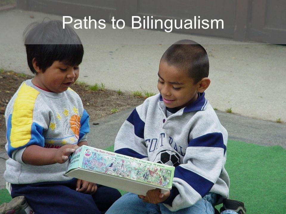 Paths to Bilingualism