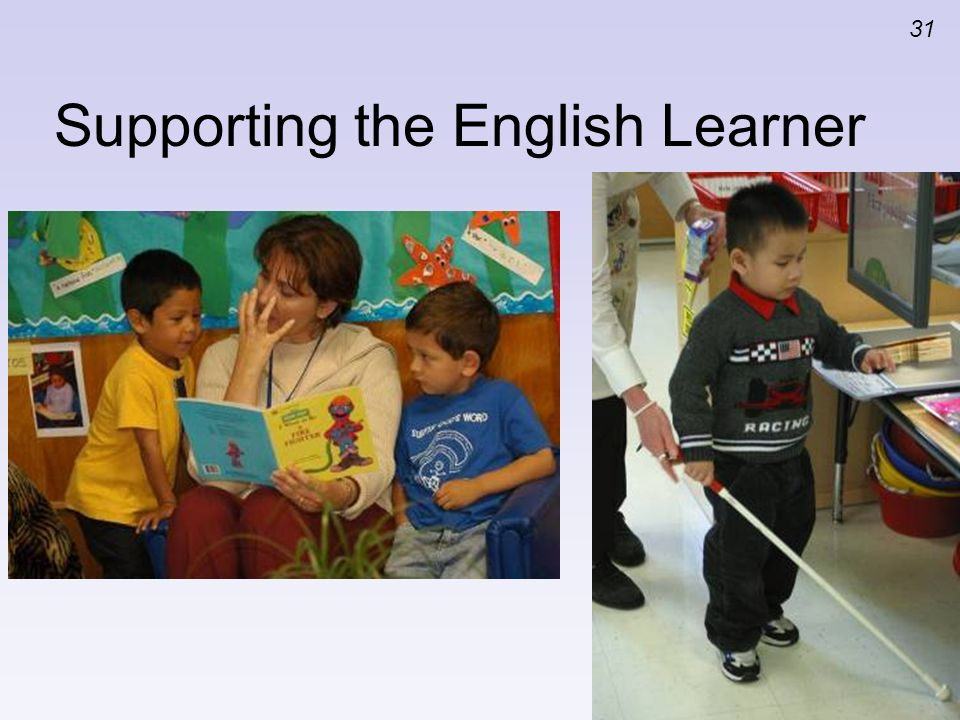 Supporting the English Learner