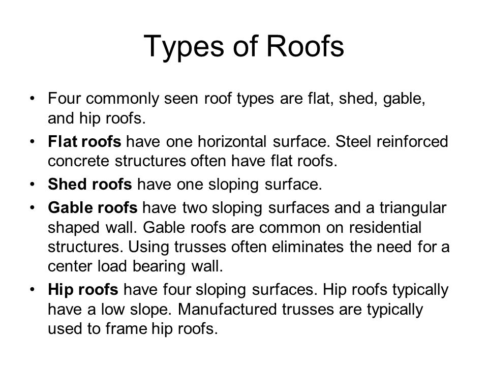 Roof And Ceiling Framing Ppt Video Online Download