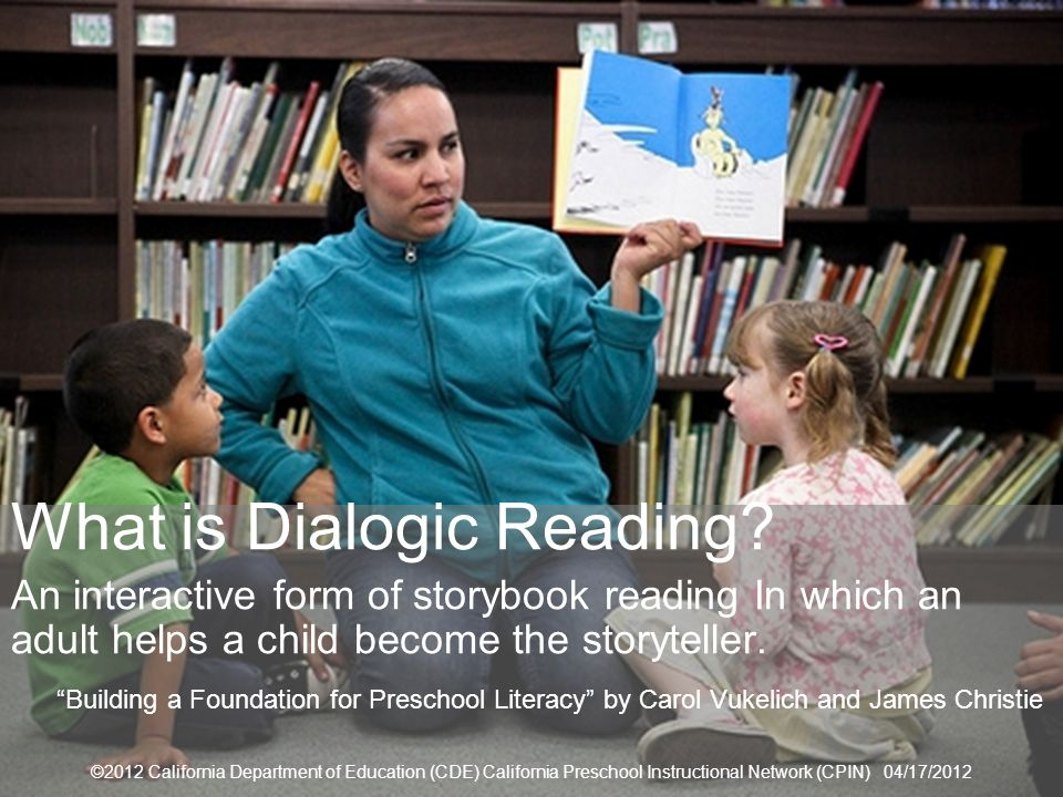 What is Dialogic Reading