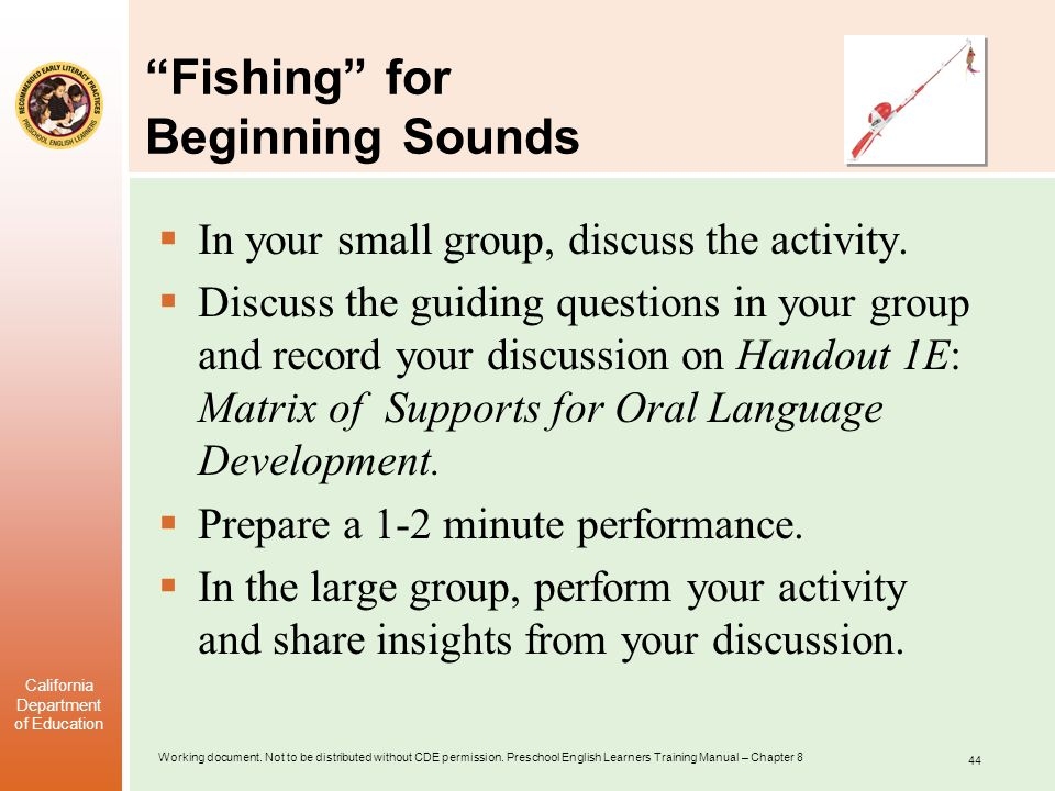Fishing for Beginning Sounds