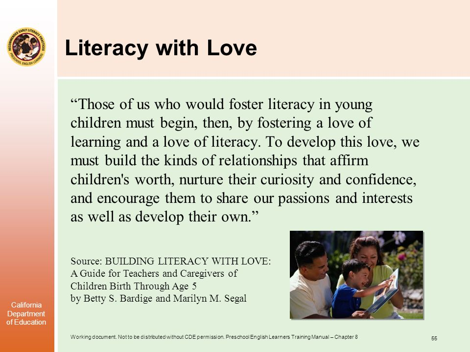 Literacy with Love