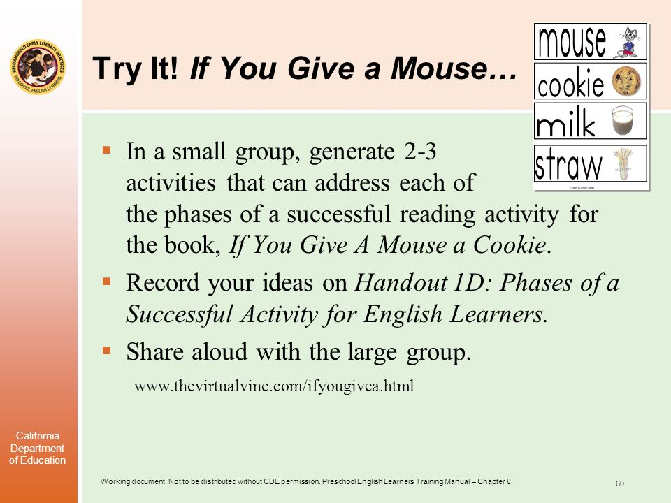 Try It! If You Give a Mouse…