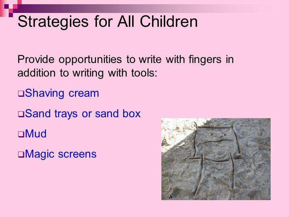 Strategies for All Children