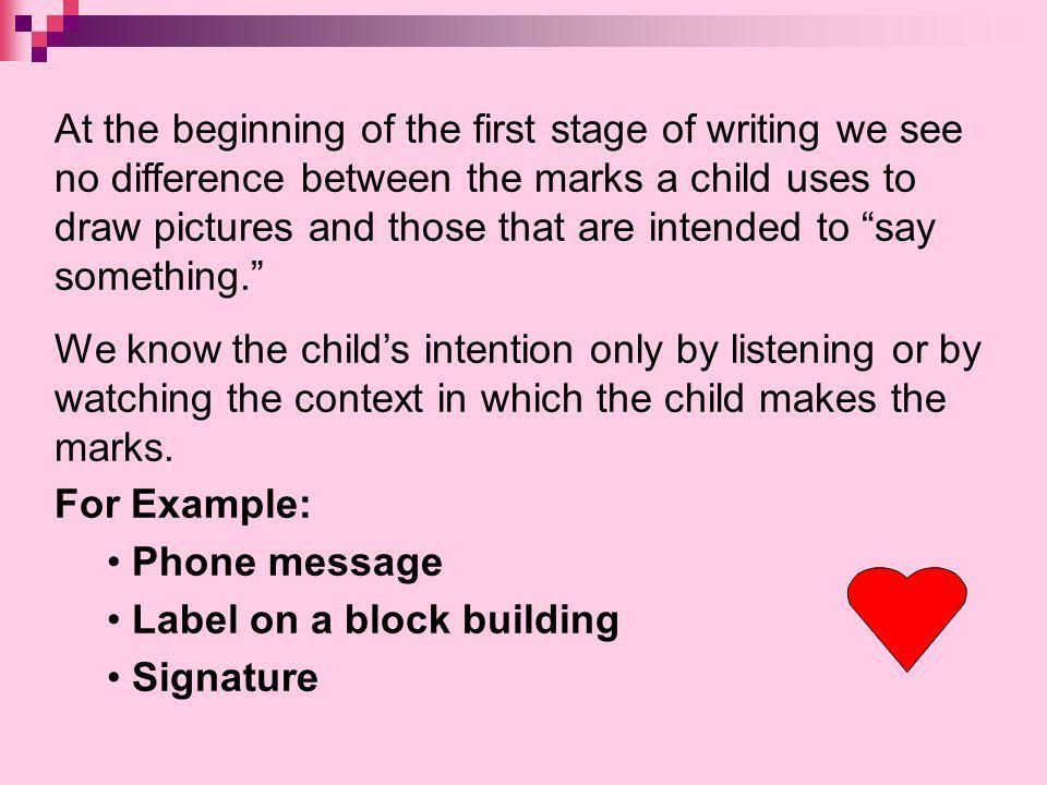 Label on a block building Signature