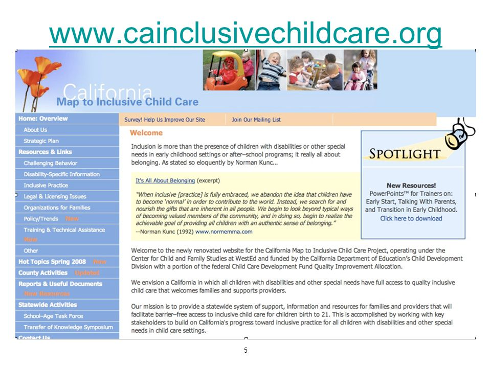 www.cainclusivechildcare.org