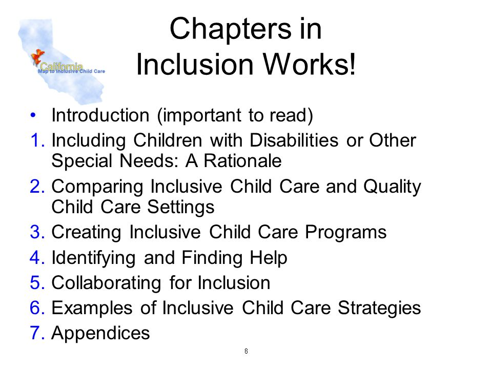 Chapters in Inclusion Works!