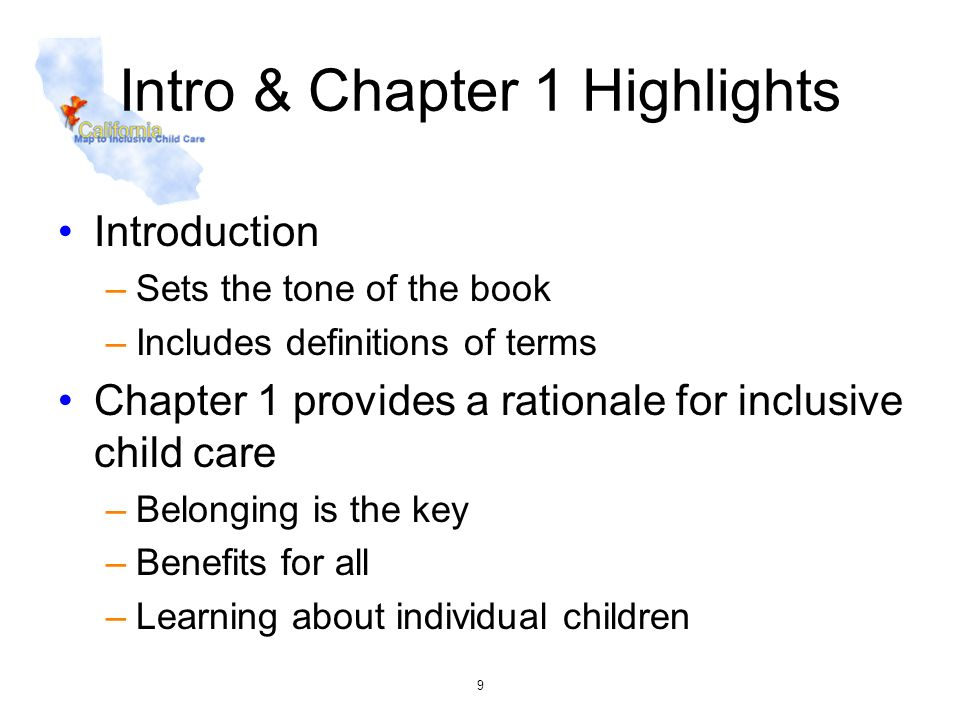 Intro & Chapter 1 Highlights