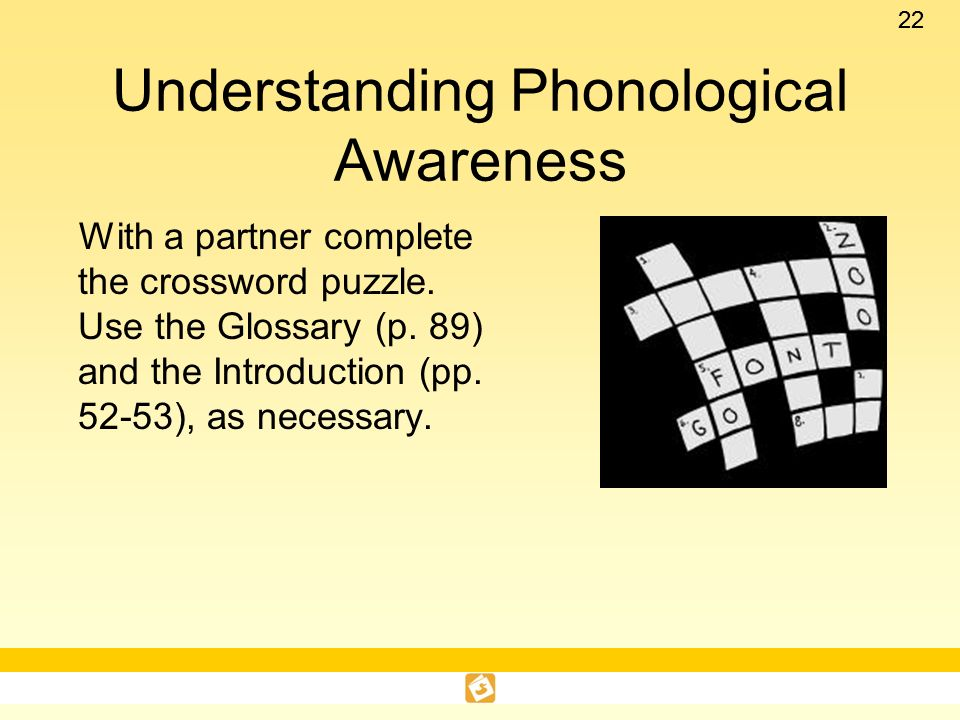 Understanding Phonological Awareness