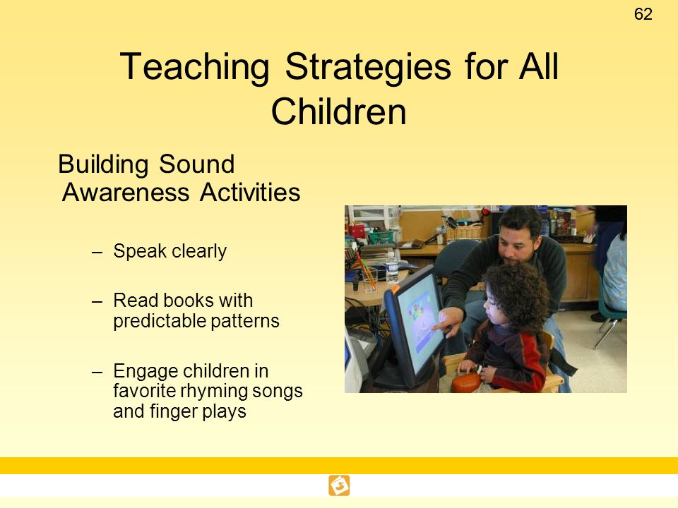 Teaching Strategies for All Children