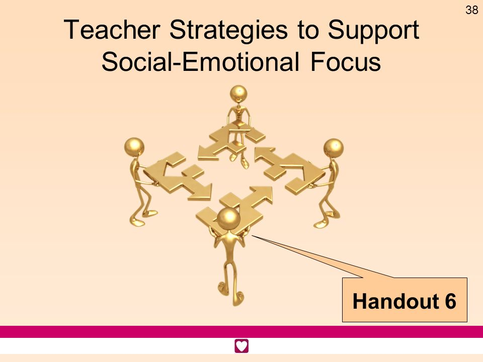 Teacher Strategies to Support Social-Emotional Focus