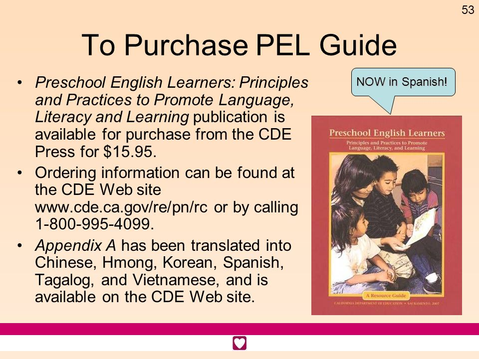 To Purchase PEL Guide