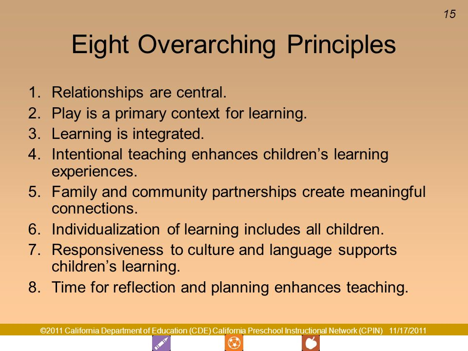 Eight Overarching Principles