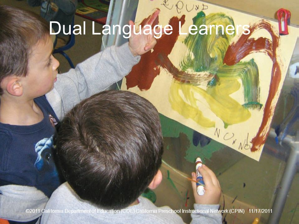 Dual Language Learners