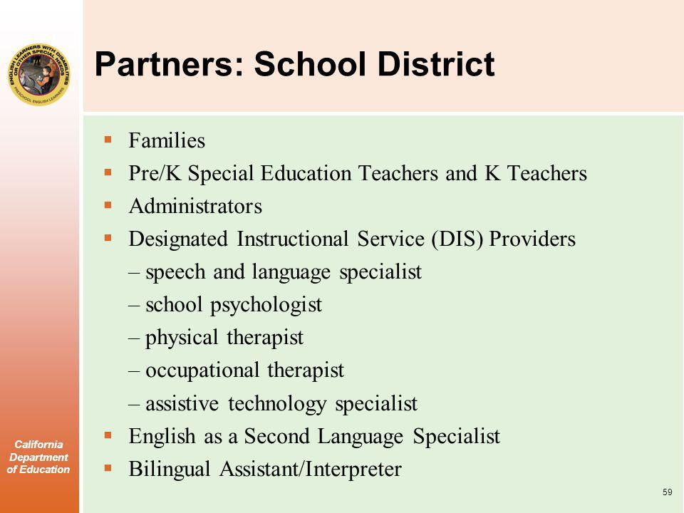 Partners: School District