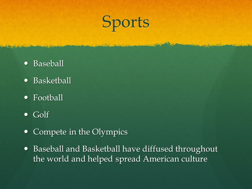 Sports Baseball Basketball Football Golf Compete in the Olympics