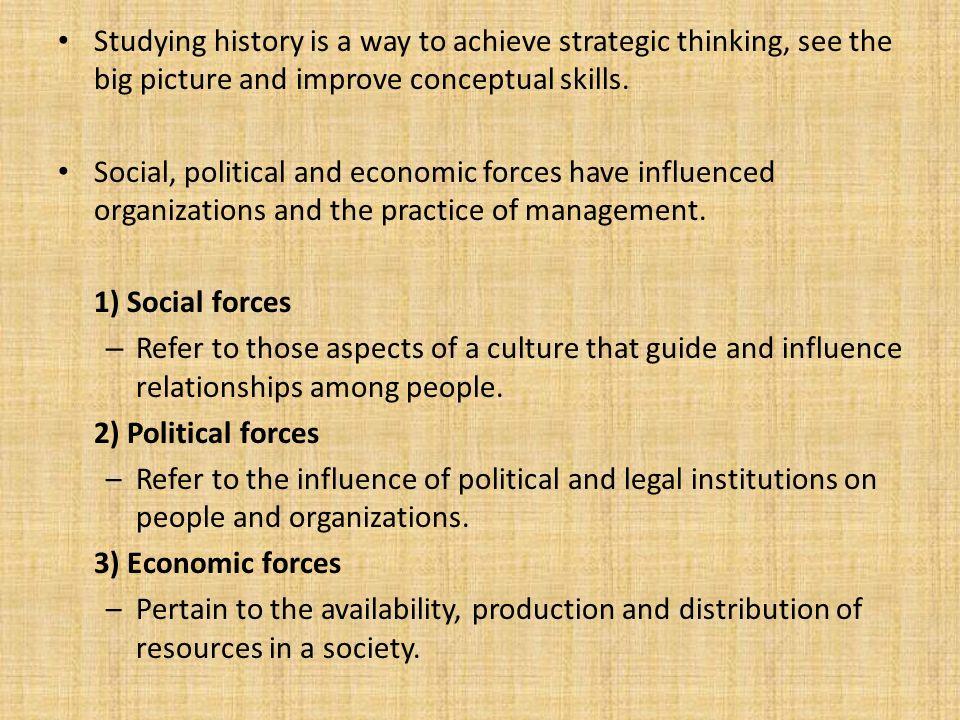 assessment of the evolution of strategic
