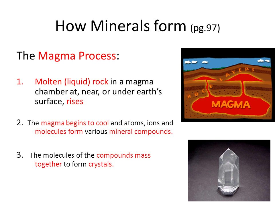 Minerals: What are They? Composition and Formation - ppt video ...
