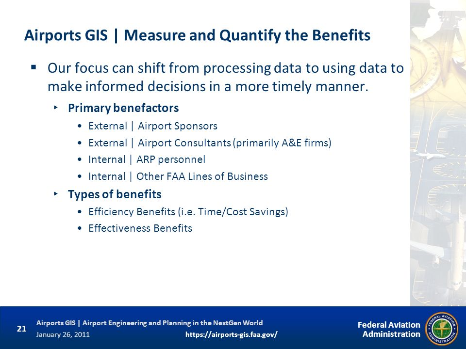 Airports GIS | Measure and Quantify the Benefits