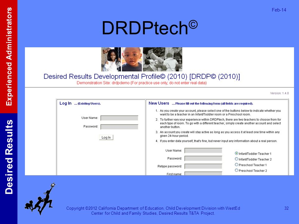 Mar-17 DRDPtech© DRDPtech is now available for CDD-funded programs.