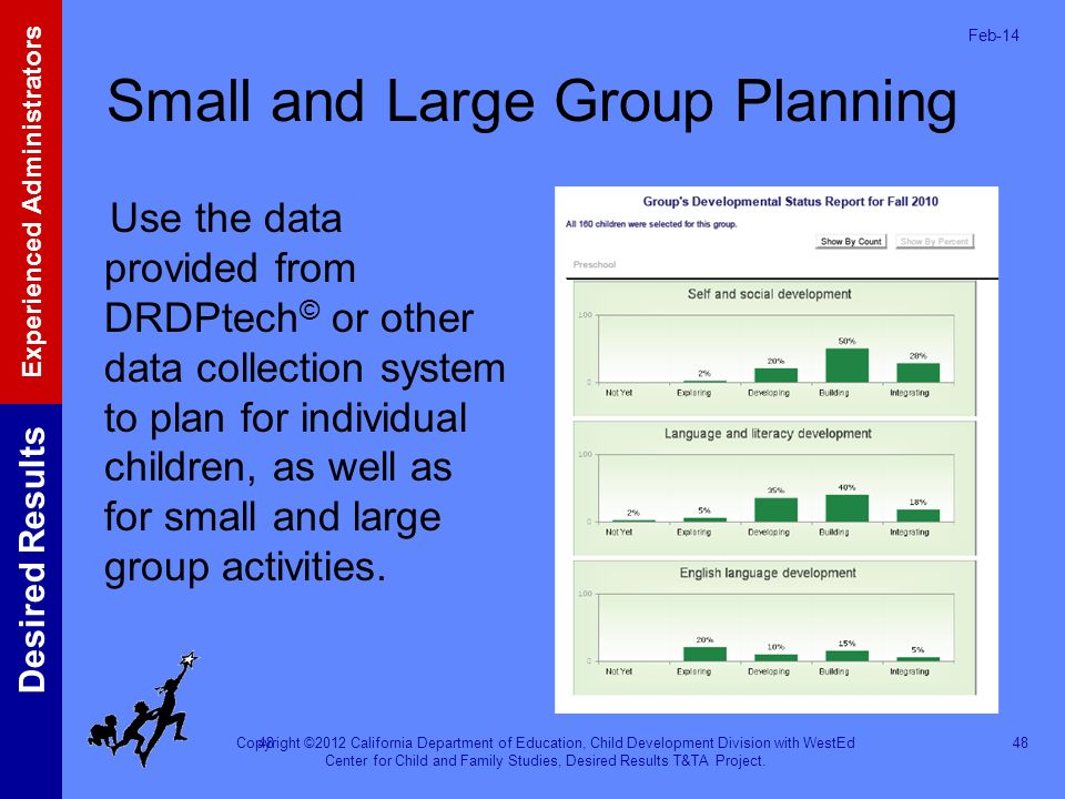 Small and Large Group Planning