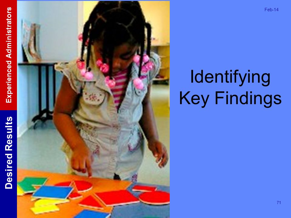 Identifying Key Findings