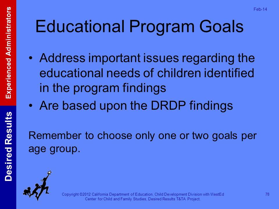 Educational Program Goals