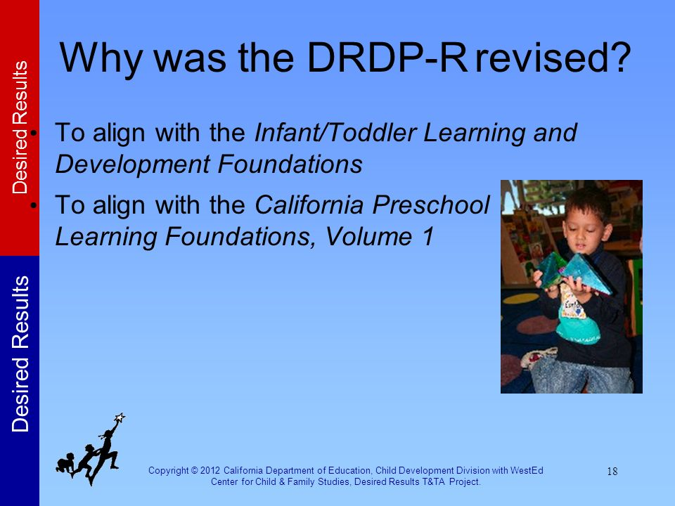 Why was the DRDP-R revised