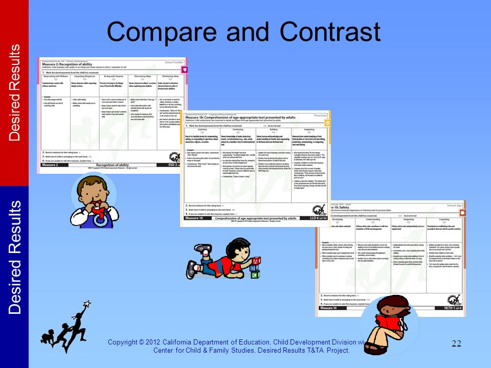 Compare and Contrast Activity: Compare and Contrast