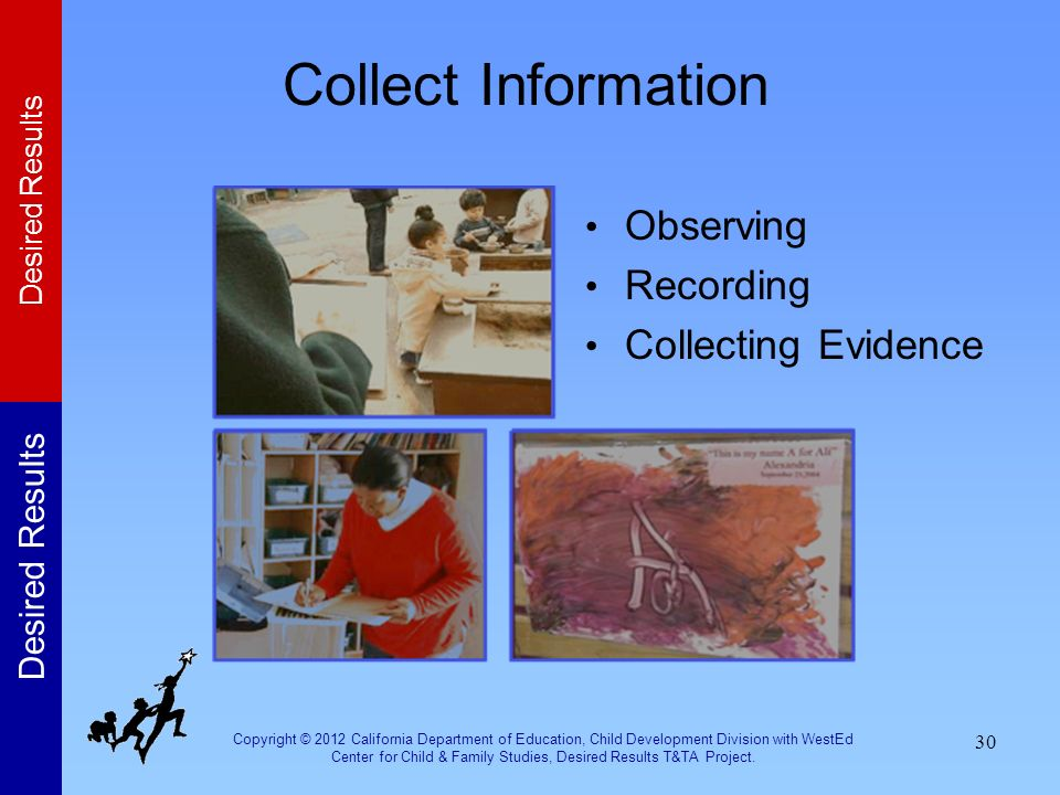 Collect Information Observing Recording Collecting Evidence