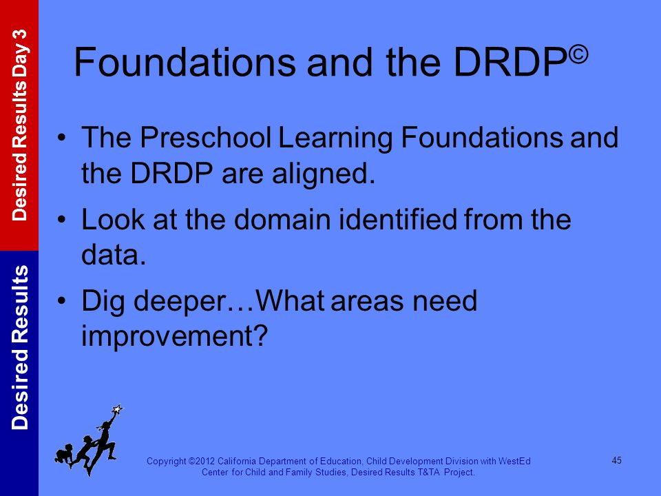 Foundations and the DRDP©