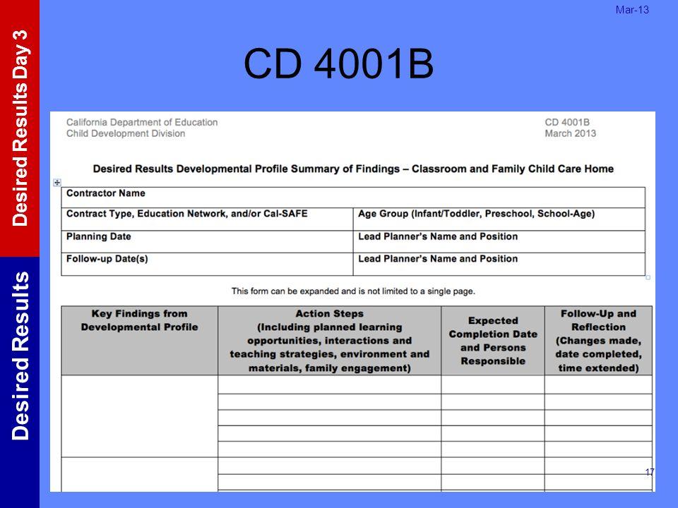 Mar-13 CD 4001B