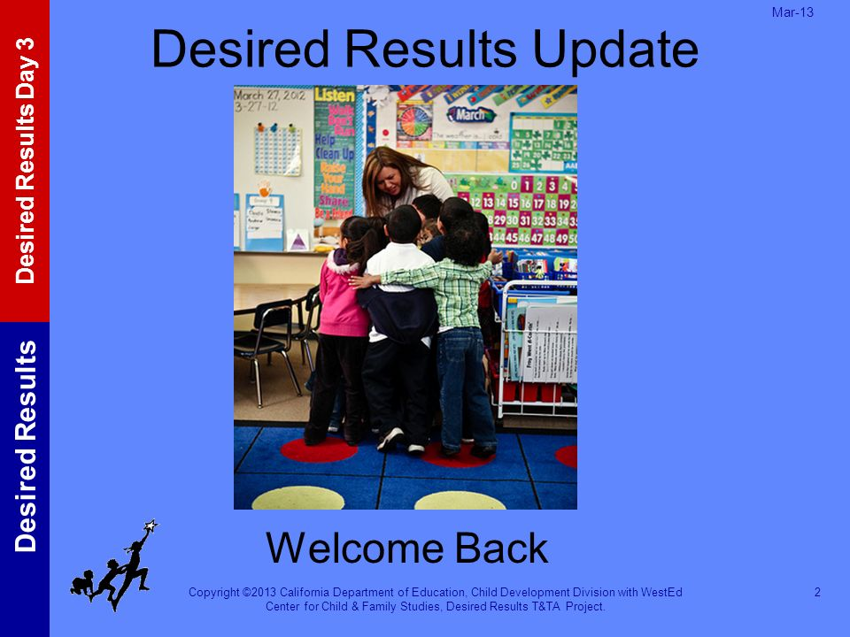 Desired Results Update