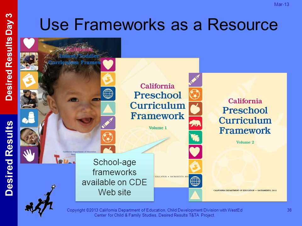 Use Frameworks as a Resource
