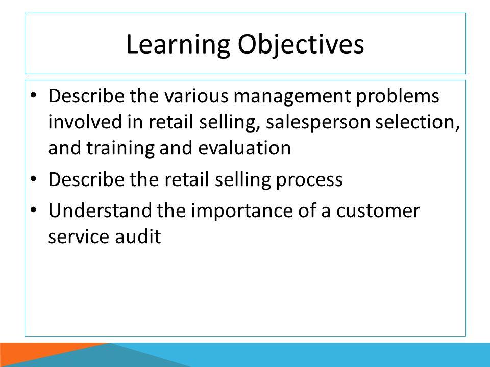 objective of customer service training