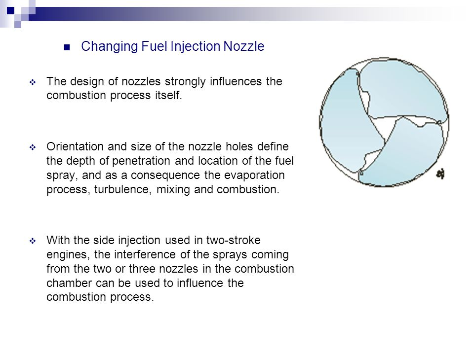 Changing Fuel Injection Nozzle