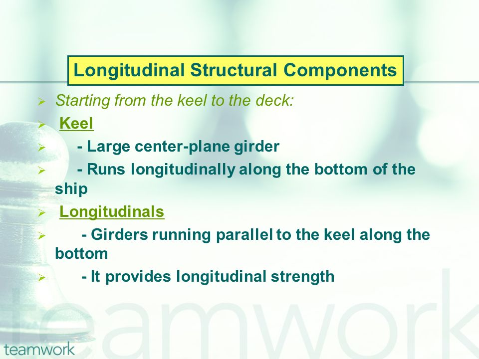 Longitudinal Structural Components