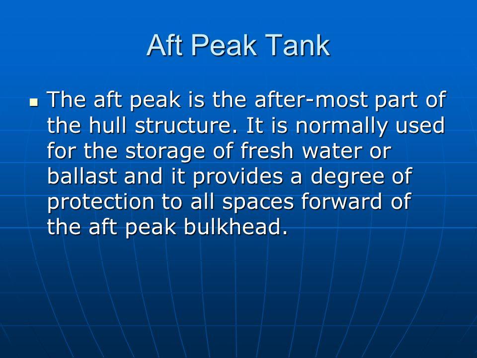 Aft Peak Tank