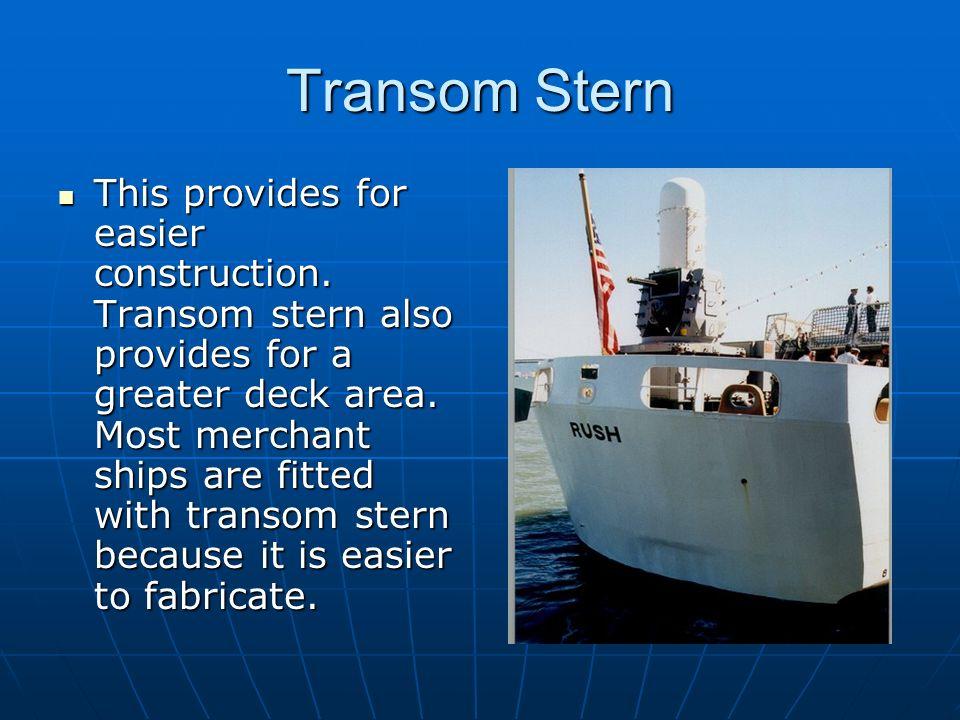 Transom Stern